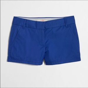 "J. Crew Factory 3"" Shorts in Blue Size: 00"
